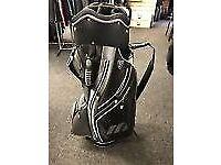 Mizuno golf bag black/grey ( REPOST STILL FOR SALE )