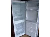 beko cda539 fs, fridge freezer in an excellent condition,silver.