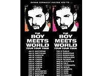 2 x Drake Standing Tickets, Barclaycard Arean 23rd Feb 17