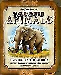 NEW-Book-The-Field-Guide-to-Safari-Animals-59-die-cut-pieces-3-D-Diorama