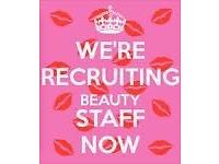 Hair, Beauty & Nails Staff required NOW