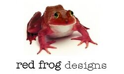 Red Frog Designs Greeting Cards