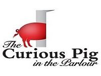 Commis Chef - The Curious Pig in the Parlour, Crawley
