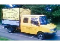 MAN & VAN RUBBISH REMOVAL SAME DAY CLEARANCE ANY WASTE OPEN 7 DAYS CALL NOW FREE QUOTE 07749788779