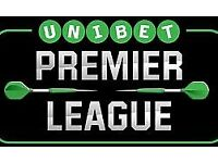 Premier League Darts Tickets Birmingham Tonight Thursday 3rd May