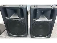 "CITRONIC CV12 PAIR SPEAKERs CABINET 12"" drivers good condtion"