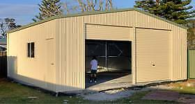 Custom Steel Sheds & Garages | Sizes 6m x 3m and up