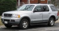 2002-2005 Ford Explorer 7 Passagers