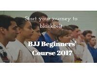 Beginners' course Brazilian Jiu Jitsu (BJJ/MMA/Self-defence)