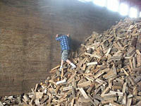 Firewood delivery hardwoods dried and split ready to burn (gvrd