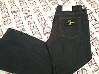 "BRAND NEW ""STONE ISLAND"" DESIGNER MENS DENIM JEANS - COST £160.00 / NEVER BEEN WORN - W:40"" / L34"""