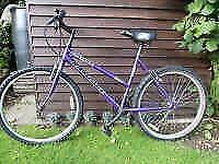 "Purple 26"" Universal Rampage Ladies mountain bike"