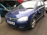 BREAKING Vauxhall corsa c 1.2 petrol