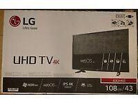 """LG 43"""" UHD TV 4K"""