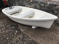 Walker Bay 10 Dinghy with Performance Sail Kit (unused) plus Mercury 3.3 hp Outboard Engine