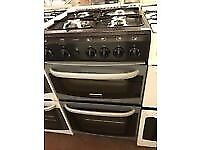 SILVER/BLACK 50CM CANNON GAS COOKER