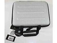 "Falcon Hard Shell 10.6"" Silver Eva Tablet Case for iPad or Notebook H2g.... new"