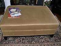 Very large Ottoman, ( 41 inches by 30), 17 inches high , paid ov