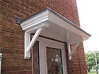 STANDARD SCROLLED GRP DOOR CANOPY TO FIT A SINGLE DOORWAY