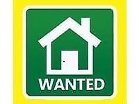 Two bedroom flat or house WANTED