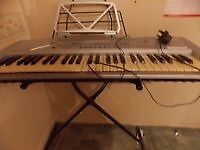 ELECTRONIC KEYBOARD-MK 2054-AND STAND