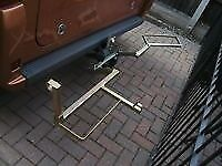 motorbike/scooter tow bar carrier