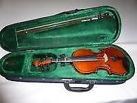 Violin 1/4 size for child 7-8 years old