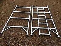 boss or youngman single or double width aluminium scaffold section