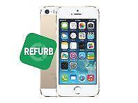 Apple Smartphone iPhone 5s 32GB, Refurbished (goud)