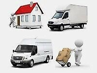Big van & MAN affordable prices professional removals service for house,flat,office & single item