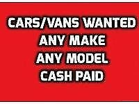 WANTED MOT FAILURES NONE RUNNERS