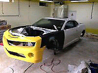 2011 Camaro SS SHELL ONLY