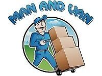 24/7 MAN AND LUTON VAN REMOVAL COURIER SERVICE OFFICE MOVING HIRE WITH A HOUSE & PIANO MOVERS DRIVER
