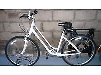 Active Hybrid ladies 6 speed city bike with basket good condition open to offers