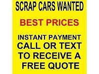 SELL YOUR UNWANTED SCRAP VEHICLE TODAY ANY AGE ANY CONDITION