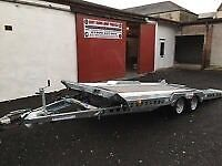 2016 IFOR WILLIAMS CT177 TILT BED CAR TRANSPORTER TRAILER **BRAND NEW*