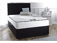 Express Sameday Delivery 7Days a week Crushed Velvet Double Bed / Mattress / Headboard Top Quality