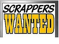 SCRAP YOUR CAR TODAY BEST PRICES PAID! CASH FOR CARS SCRAP MY CAR SELL MY CAR