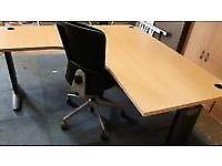 Beech corner managers office desks top spec