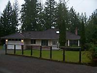 Neat as a pin rancher for rent in north Qualicum Beach