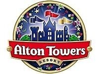 Alton Towers tickets x4 Saturday 6 August