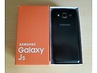 samsung J5 unlocked and boxed and in mint condition