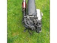 2016 running 50cc moped 2 two stroke engine fully complete not 125 breaking