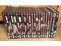 007 James Bond DVDs x 22