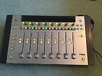 Euphonix MC Mix v2 ( AVID ARTIST MIX ) 8 Channel MIDI Controller with P&G Fader Caps