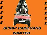 Scrap Cars Wanted, Damaged Cars, Write-offs (Harleston,Diss)