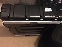 Pulse 2U 19 ABS Flight Rack Case only!