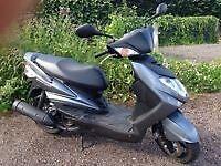 Yamaha Cygnus 125cc 2012 12 months MOT