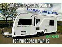 Caravan & motorhome any age any model I want it