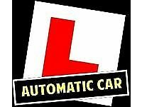 Automatic driving lessons, schools & instructor London